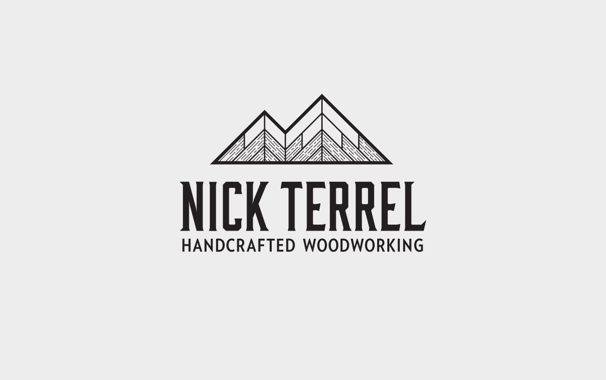 Nick Terrel Logo Vertical