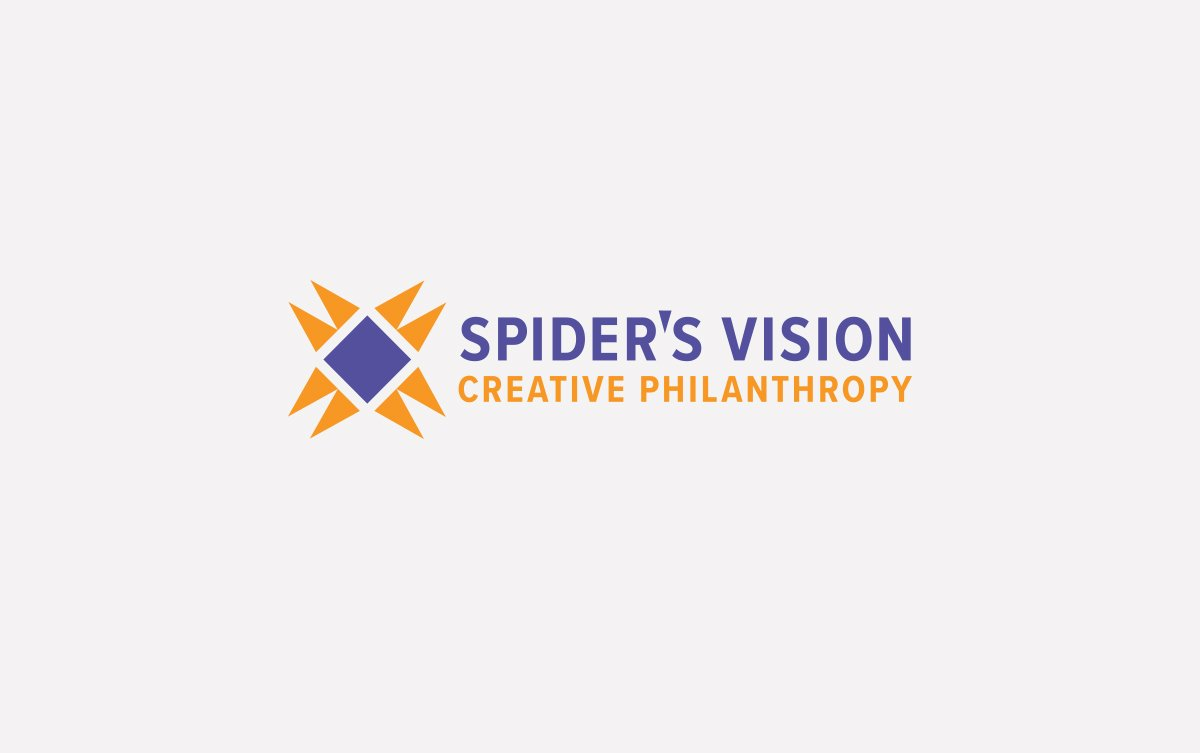 Spider's Vision Logo Design in Horizontal